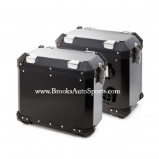 Pannier system Black (Left + Right Bags) for F800GS/F700GS/F650GS TWIN