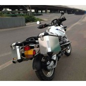 Black Stainless Steel Racks for BMW G650GS
