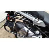 Black stainless steel racks for R1200GS 2013-2018