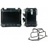 Brooks Pannier system Black (Left + Right Bags) Yamaha super tenere 1200XT w/Mounting Racks